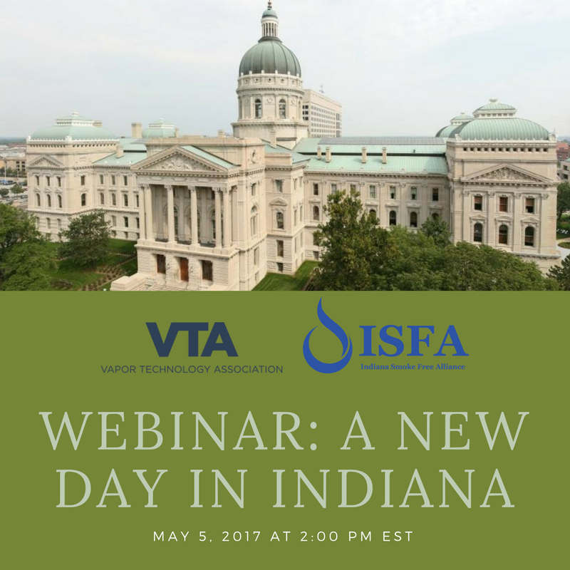 VTA Webinar – Everything You Need To Know About Selling Eliquid in Indiana